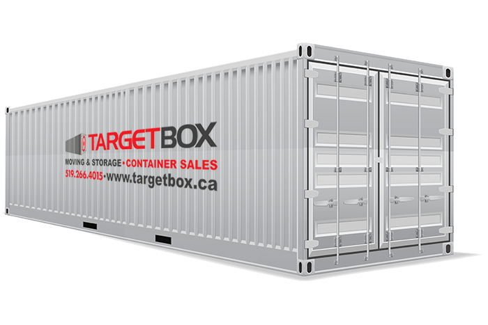 40 feet container unit - TargetBox Ontario