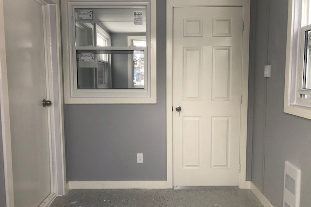Shipping Container Office Interior Finish - TargetBox Container Rentals and Sales