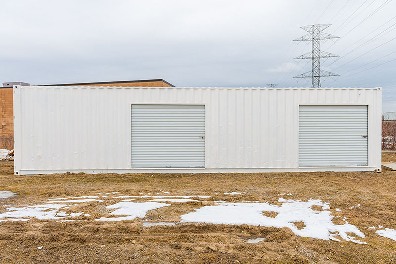 Shipping Container with Rollup Door - TargetBox Ontario