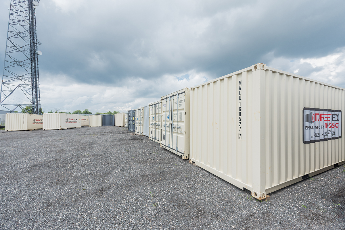 Secured Storage Yard