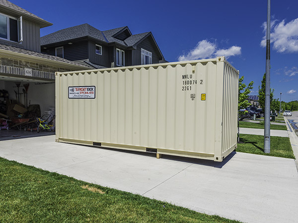 Residential Storage Units - TargetBox Ontario