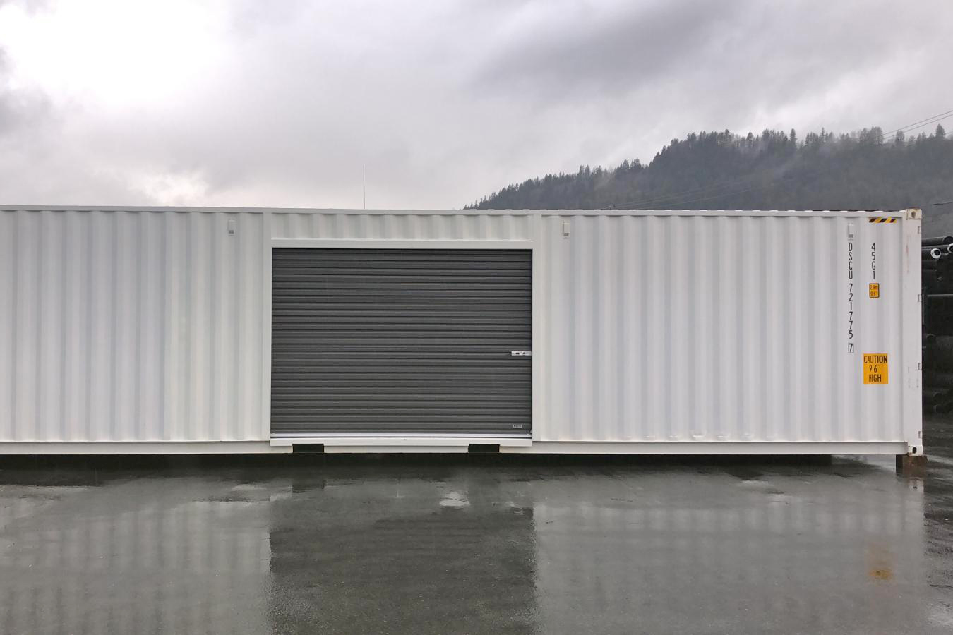 40 feet sea can - with roll-up doors - TargetBox Shipping Containers