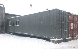 40ft Storage Office Modifications - TargetBox 01
