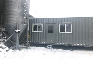40ft Storage Office Modifications - TargetBox
