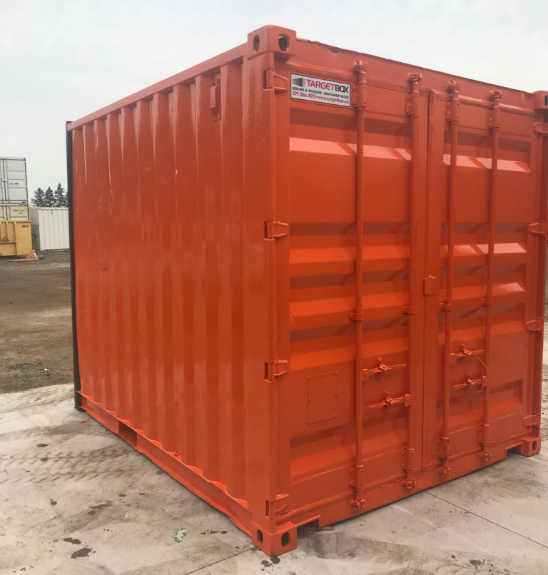 Custom Painted 10ft Shipping Container - TargetBox Sea Cans