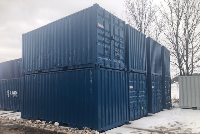 Custom Painted 20ft Shipping Container - TargetBox Sea Cans