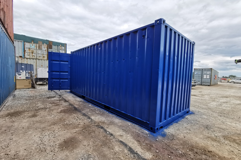 Custom Painted Sea Container - TargetBox Shipping Containers