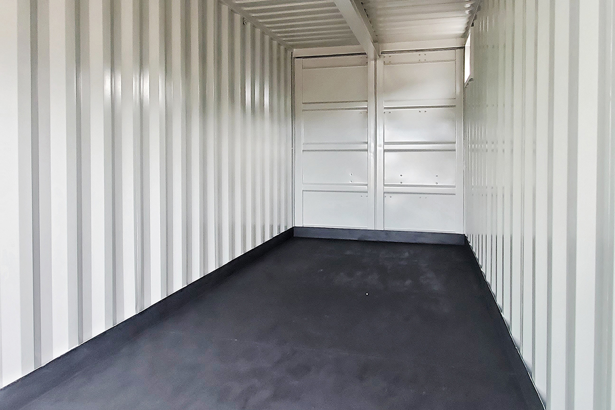 Interior Floor modification shipping container - TargetBox