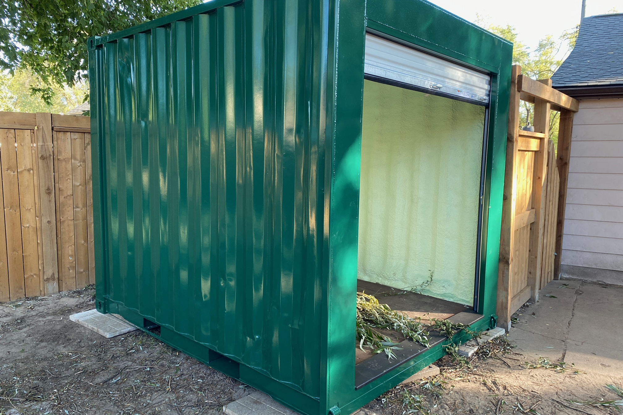 Paint Options Shipping Containers - TargetBox Custom Shipping Containers