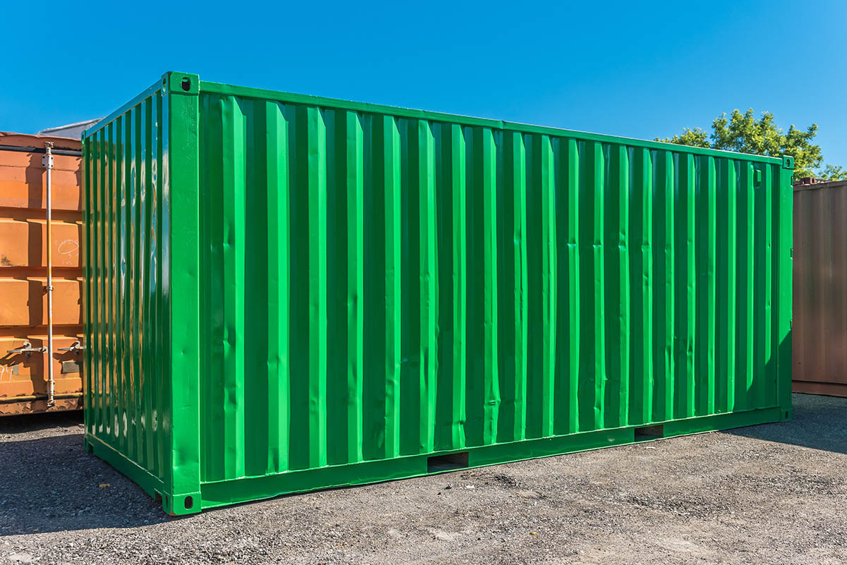 Buy A Painted Shipping Container Targetbox Container