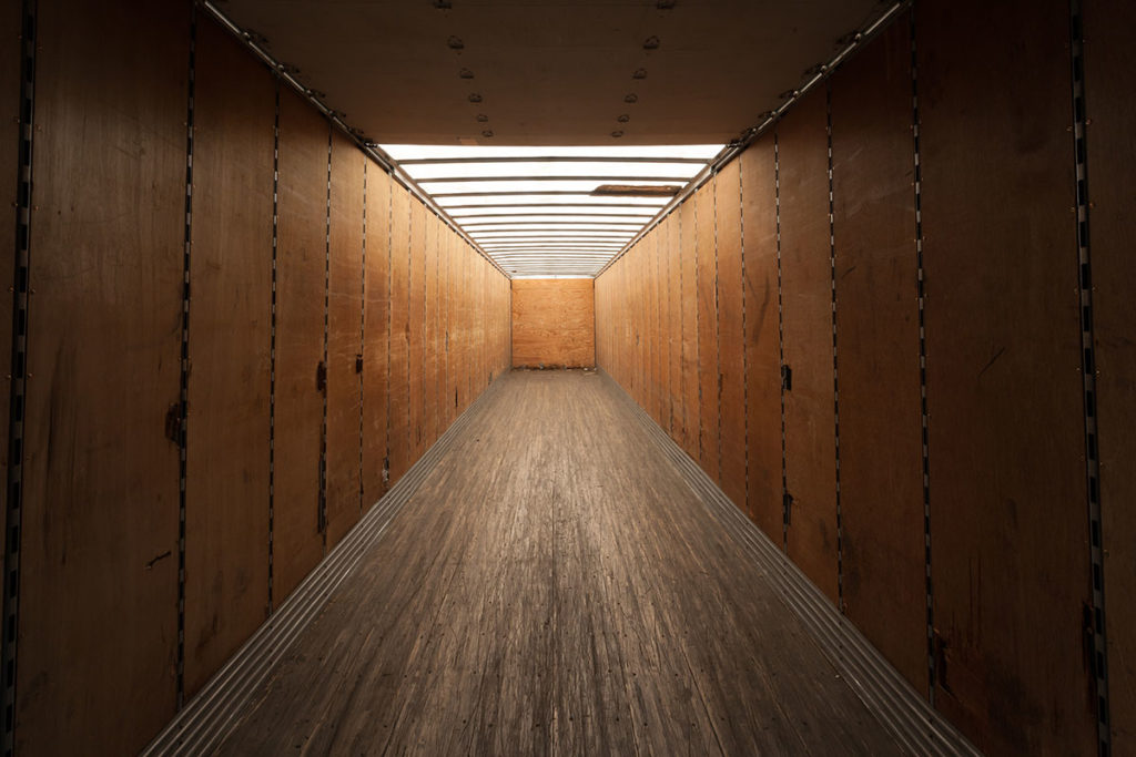 Shipping Container Interior Finish - TargetBox
