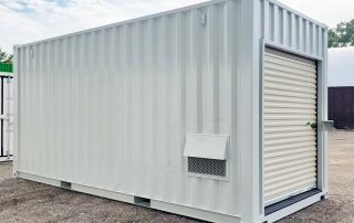 Shipping Container Modifications - TargetBox