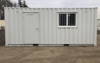 Shipping Container Office - TargetBox C Cans