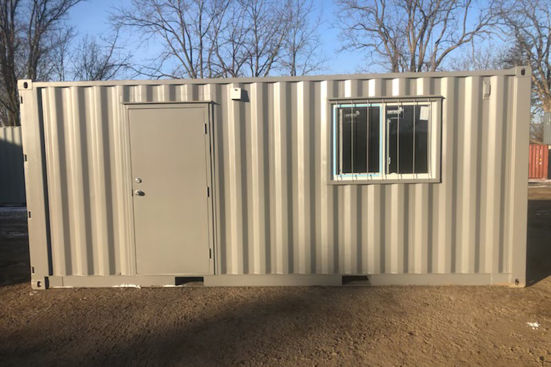 Shipping Container Office With Interior Finish and Electrical Package - TargetBox - 03