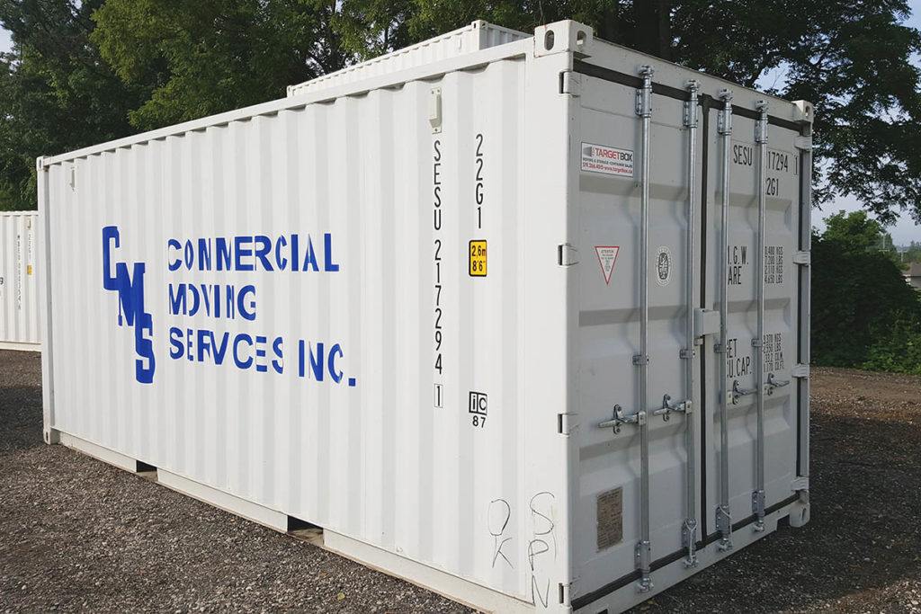 Buy a Shipping Container With Decals - TargetBox Container Rental