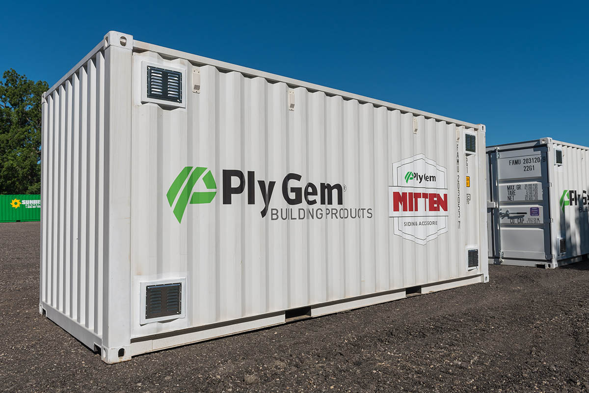 Buy A Shipping Container With Decals Targetbox Container