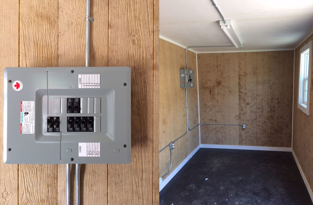 Shipping Container with Electrical Installation - TargetBox