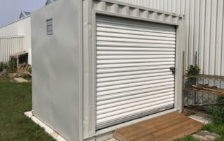 Shipping Container with Roll-Up Door - TargetBox Ontario