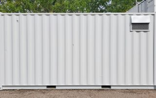 Ventilation Modification Shipping Container - TargetBox