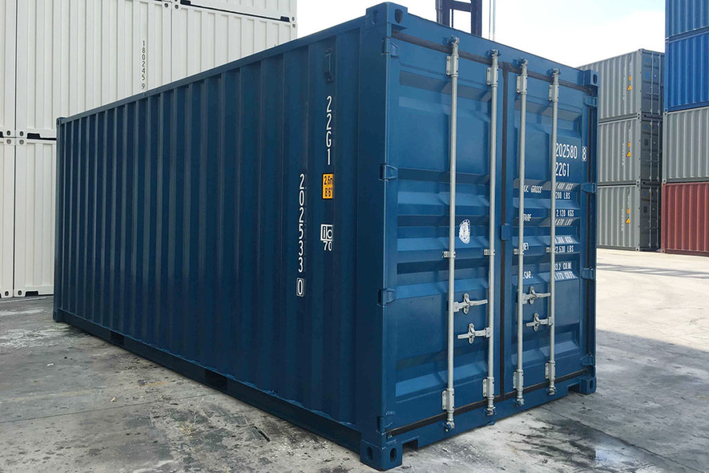 20ft shipping container - TargetBox