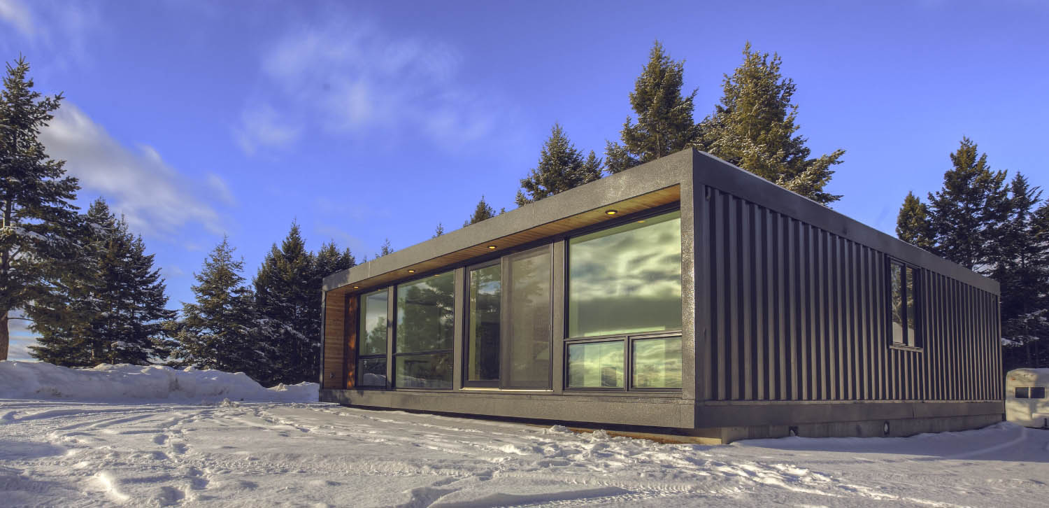 Honomobo HO4+ Shipping Container Home