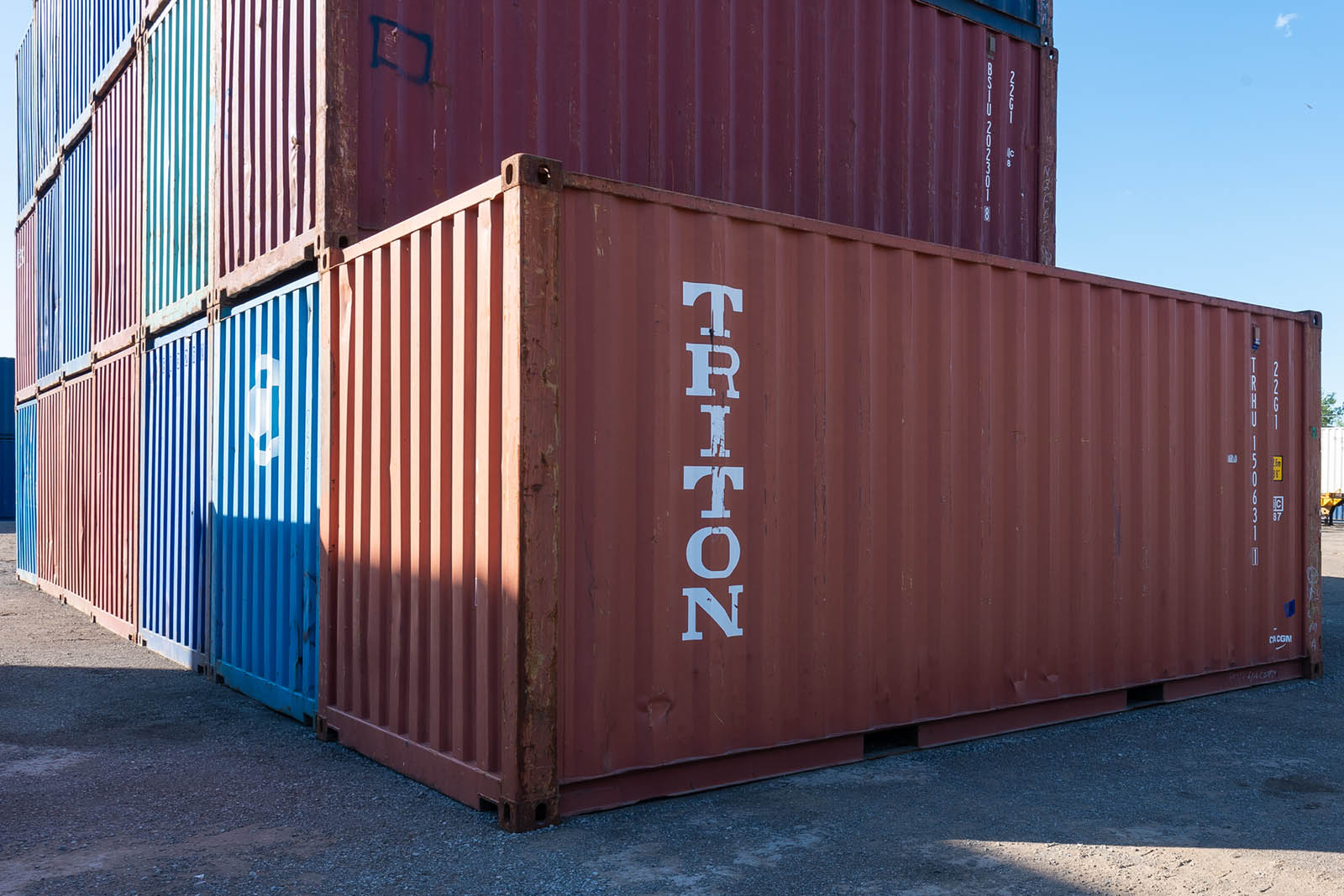 Buy a Used Shipping Container - TargetBox Container Rental ...