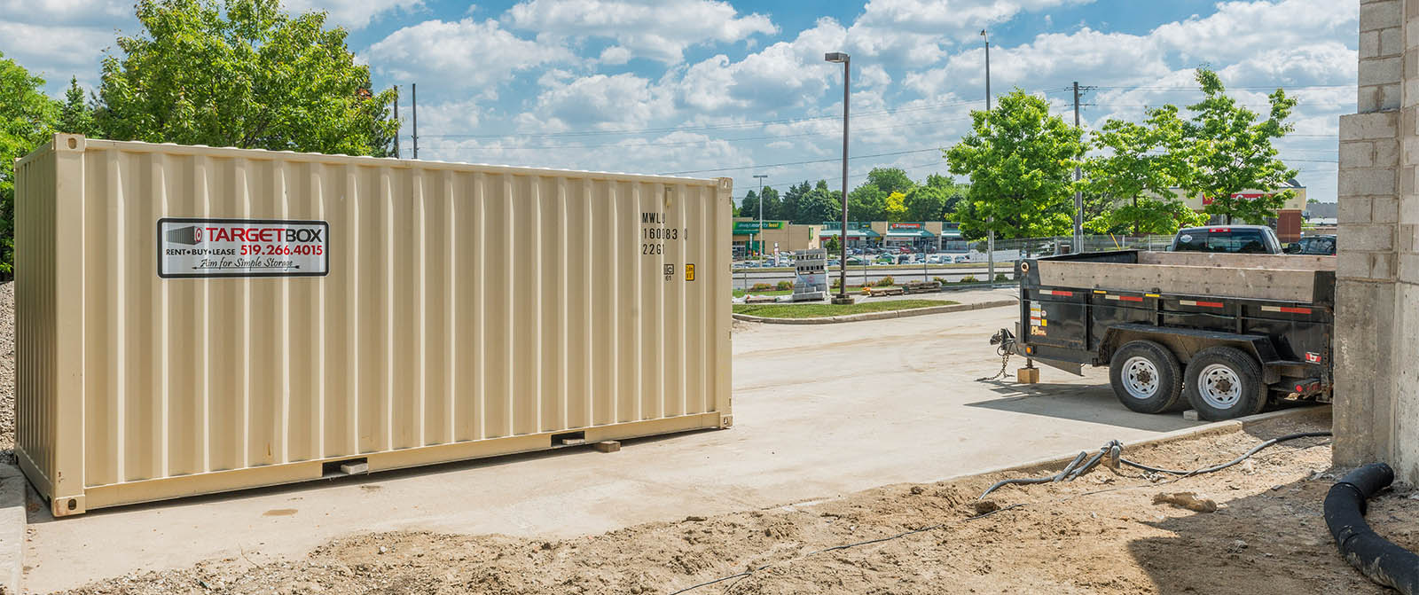 Storage Solutions For Construction Companies - TargetBox Containers
