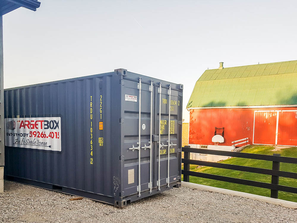 Commercial Steel Storage Containers in Kitchener
