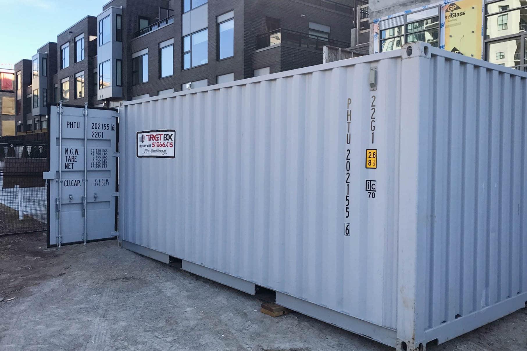 Jobsite Storage in Cambridge