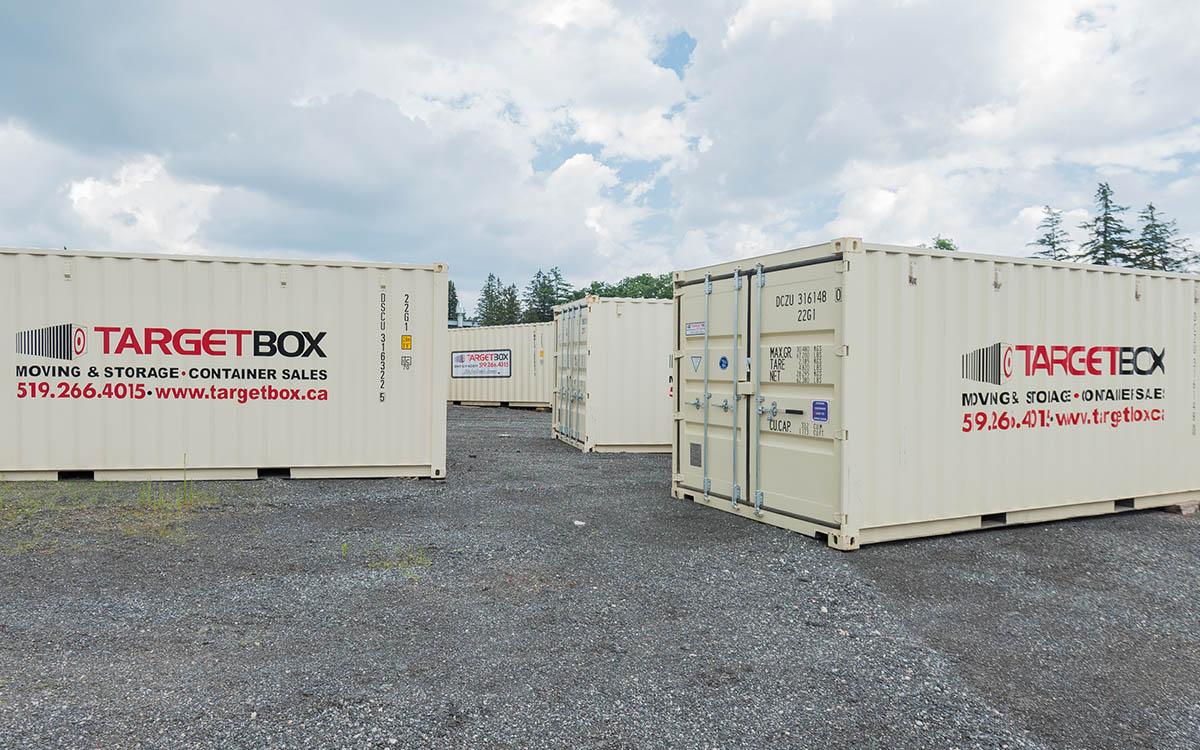 Pod Storage on a Secured Yard - London ON