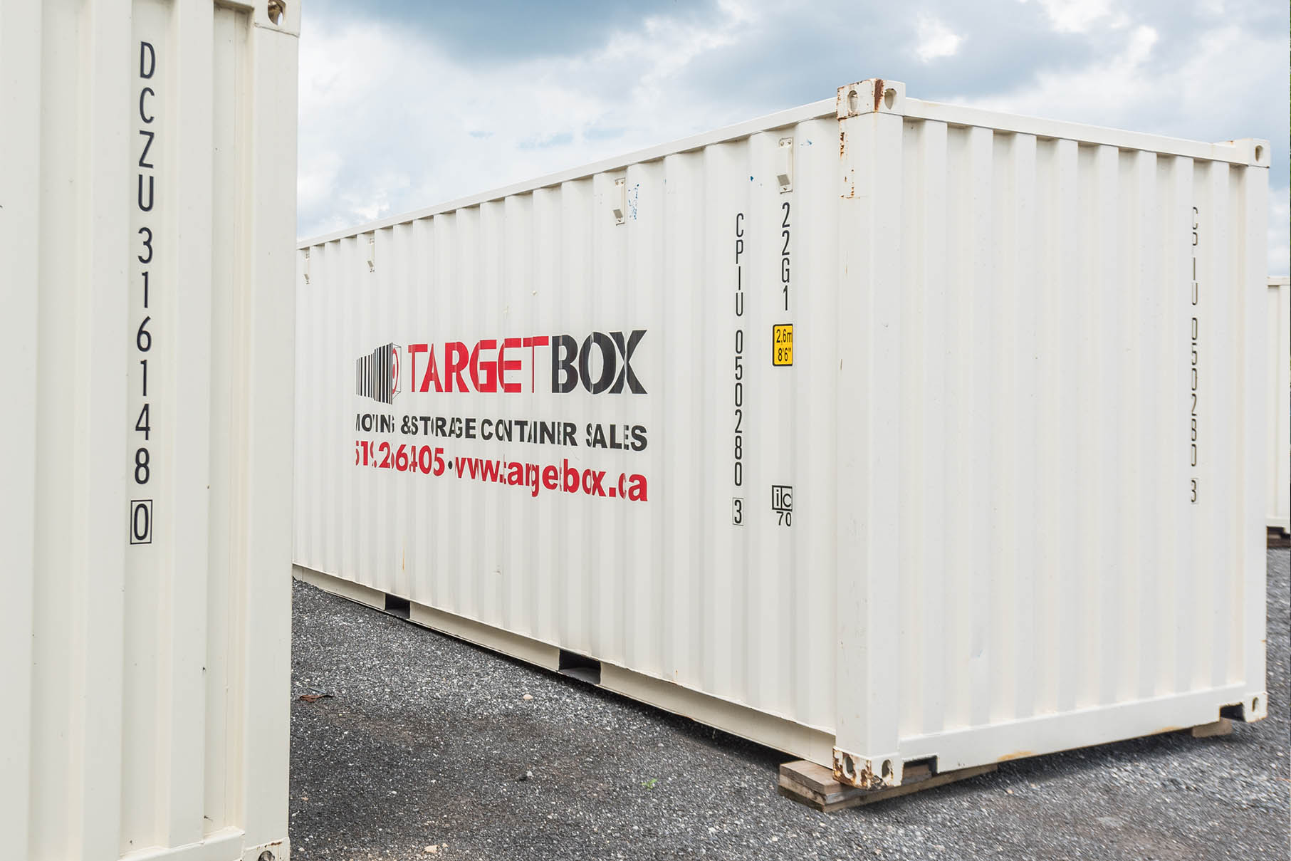 Pod Storage on a Secured Yard in Cambridge ON