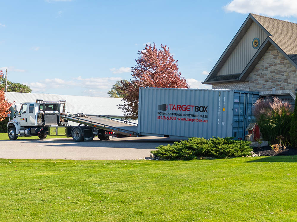 Residential Storage Containers in Kitchener