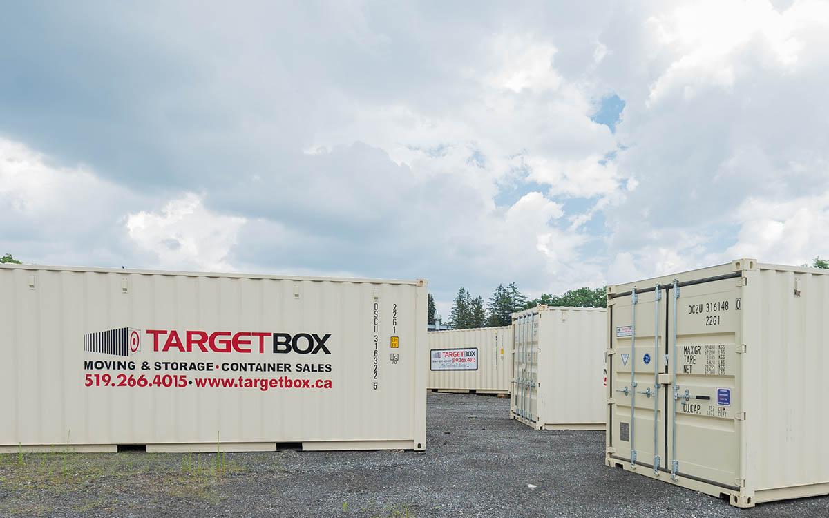 Secured Yard Storage