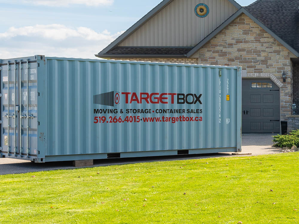 Storage Containers for Moving & Renovations in Stratford
