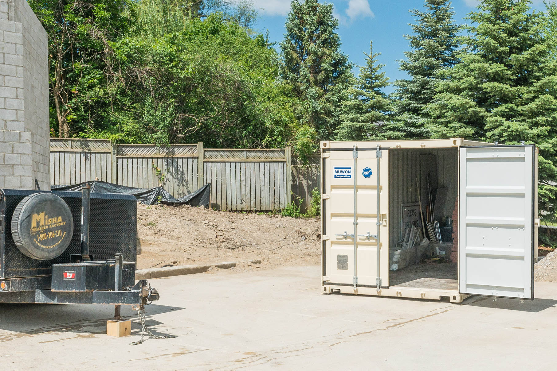 Storage for Construction Sites in Chilliwack