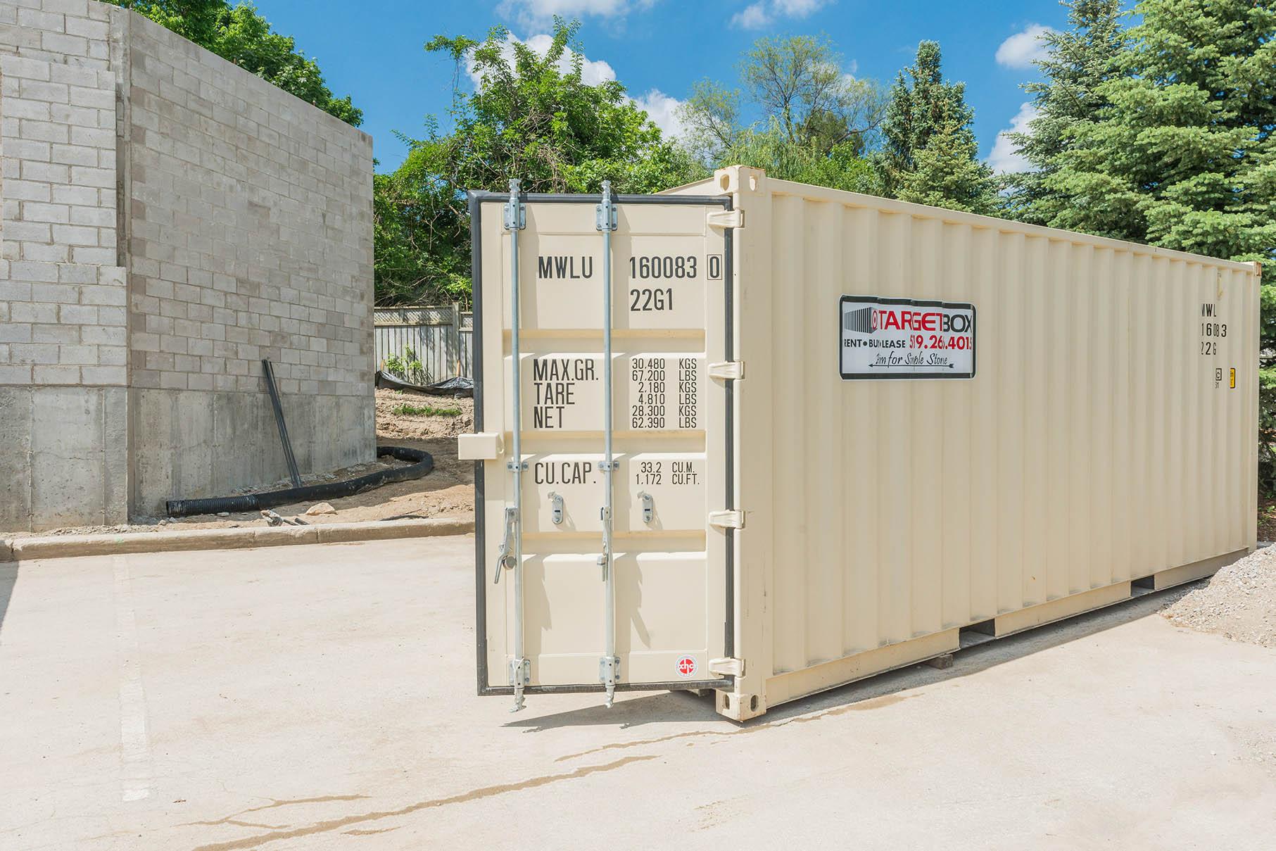 Storage for Contractors in Kitchener