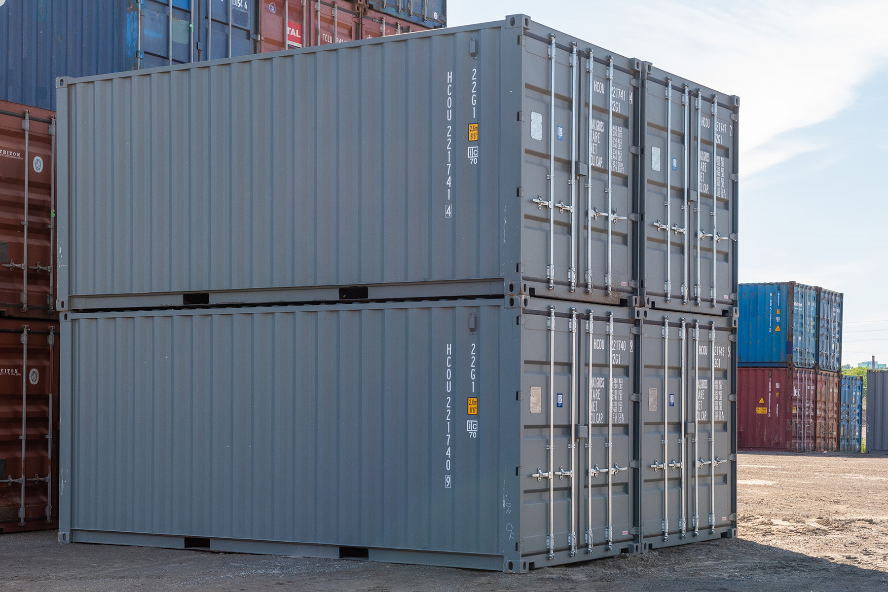 20-foot New Sea Cans For Sale - TargetBox Shipping Containers
