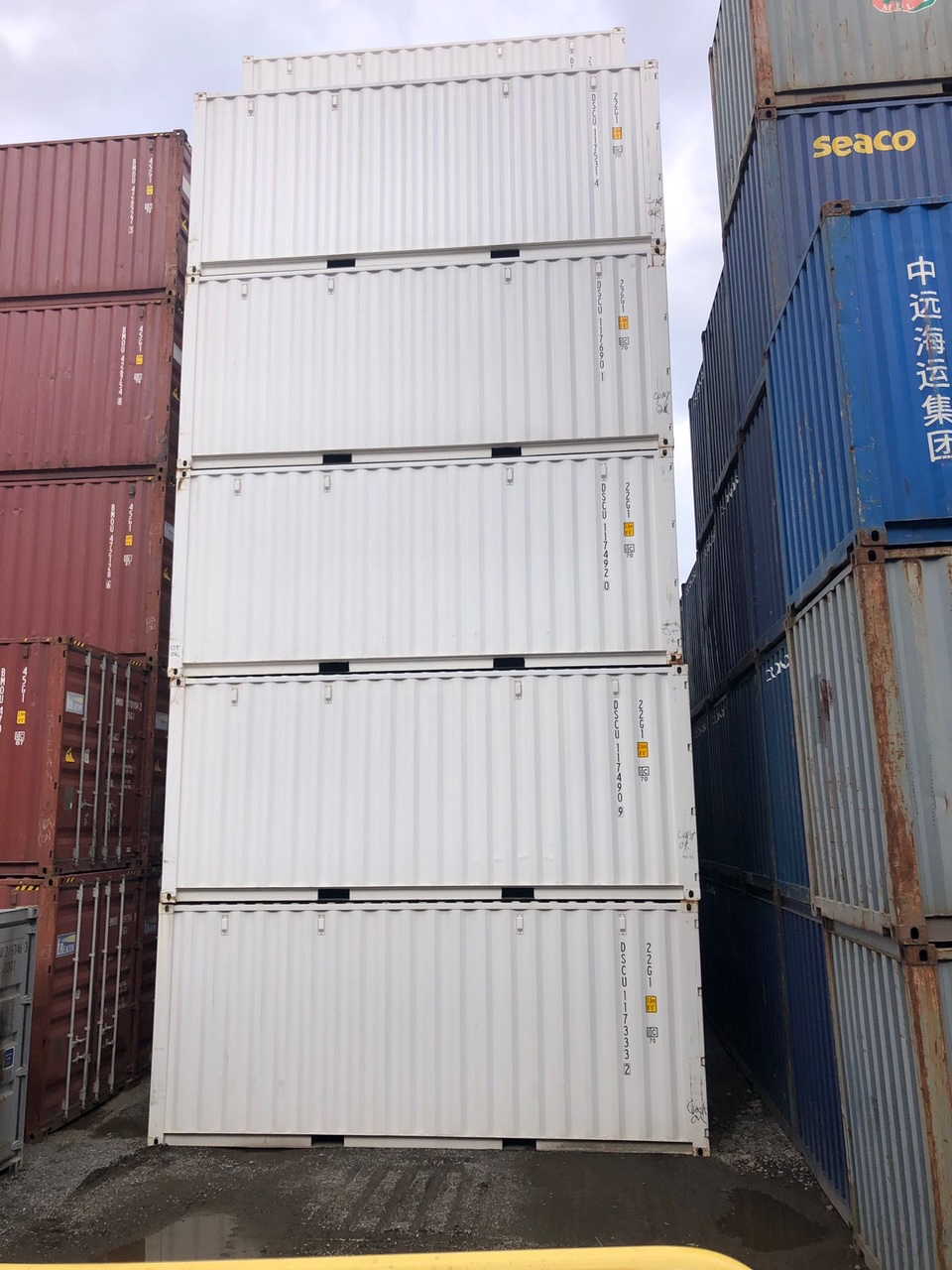 20-foot Sea Cans For Sale - TargetBox Shipping Containers