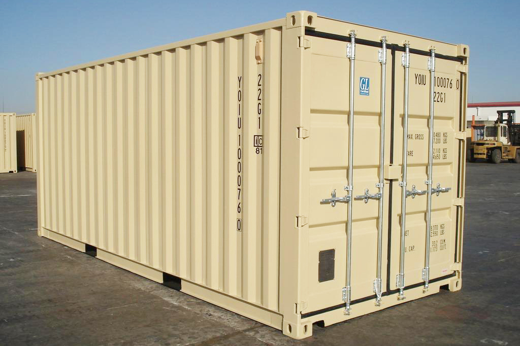 20-foot Shipping Container For Sale - TargetBox Sea Cans
