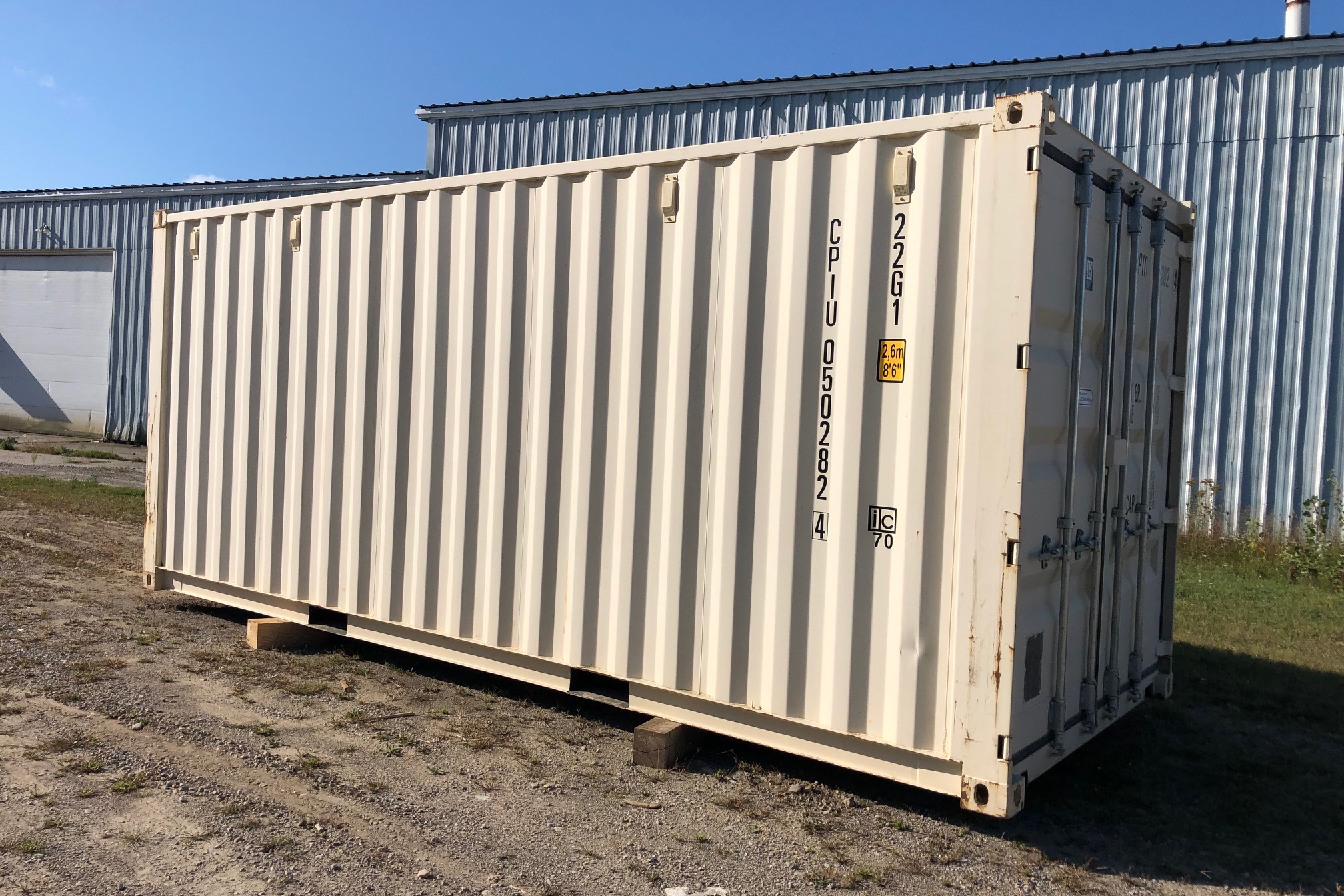 20-foot Shipping Containers for Sale- TargetBox C Cans