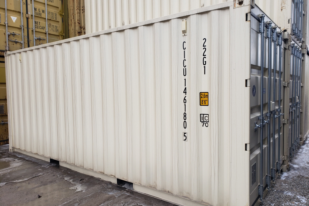 20ft Sea Can - TargetBox Container Rentals & Sales