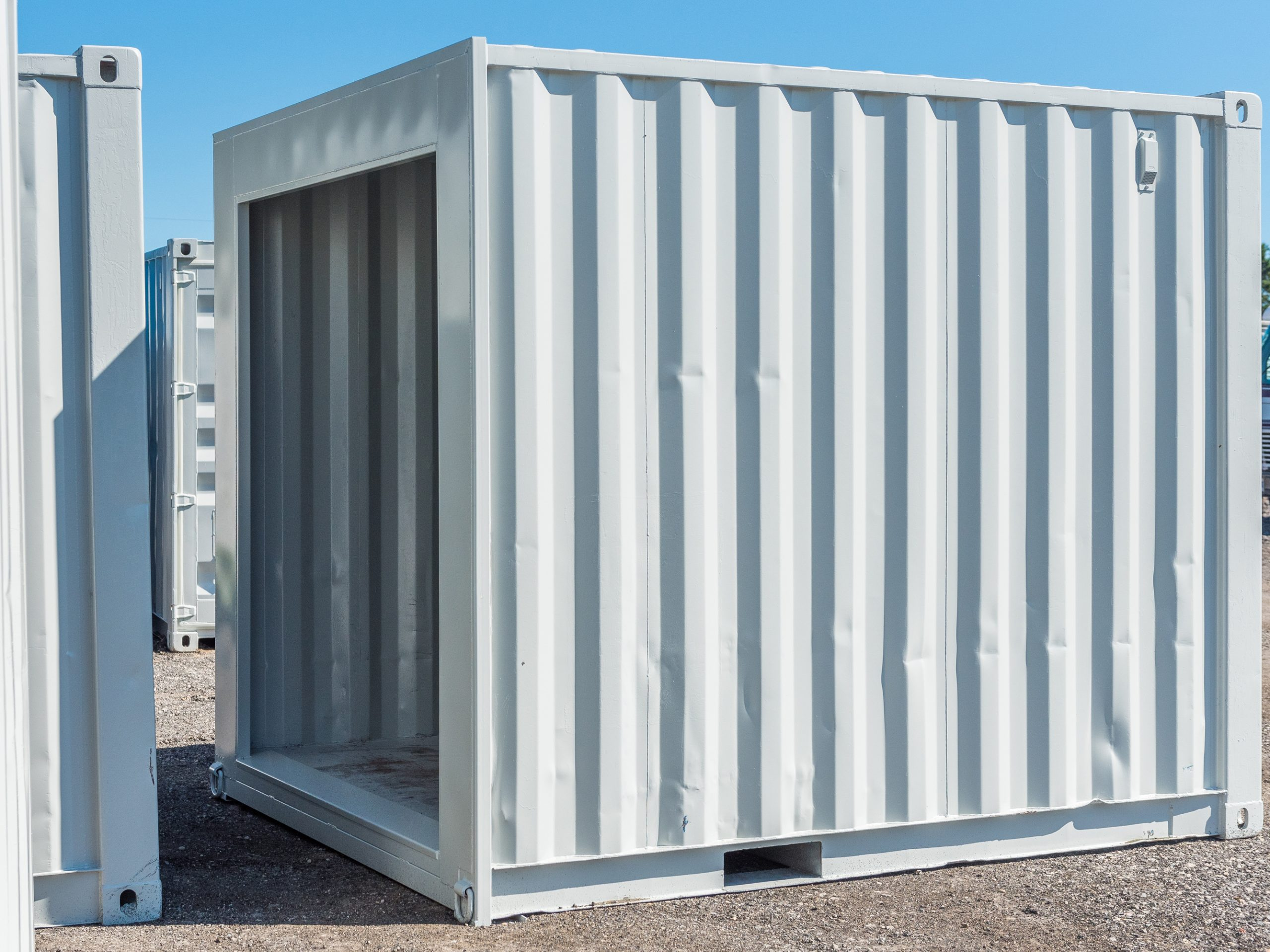 10 feet used shipping container - 1