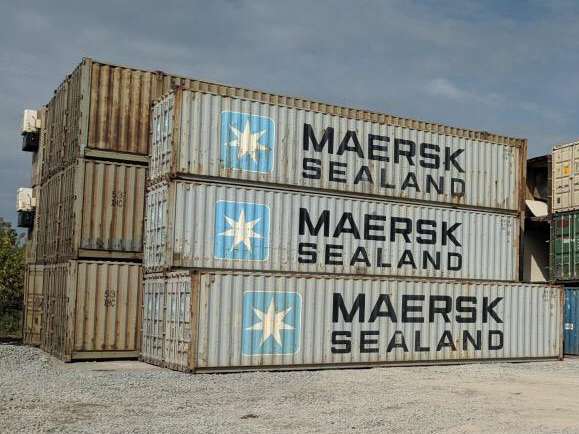 40 feet Construction Grade Shipping containers