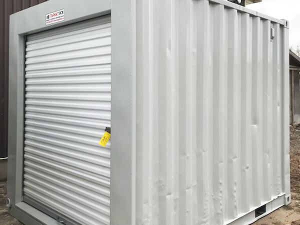 10ft Shipping Container With Roll-Up Door