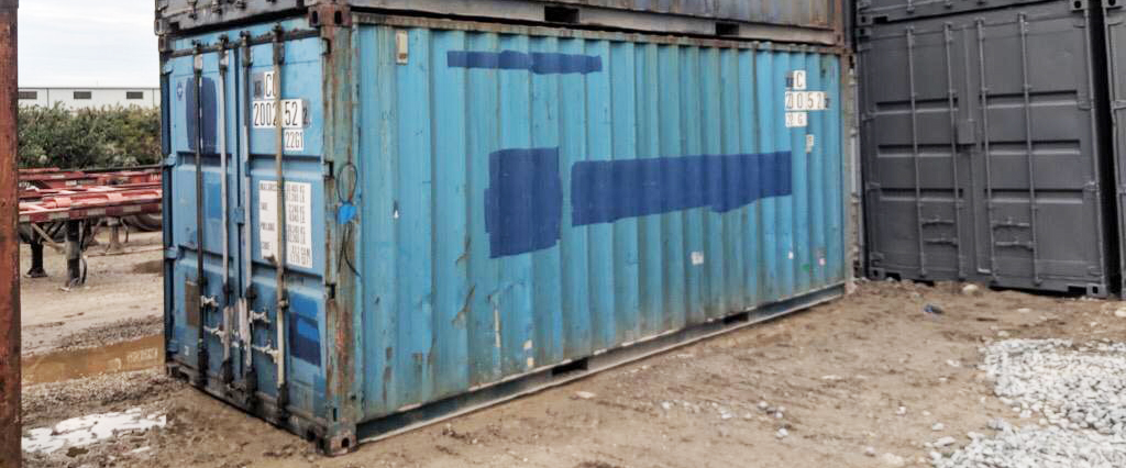 Construction Grade Shipping container - TargetBox