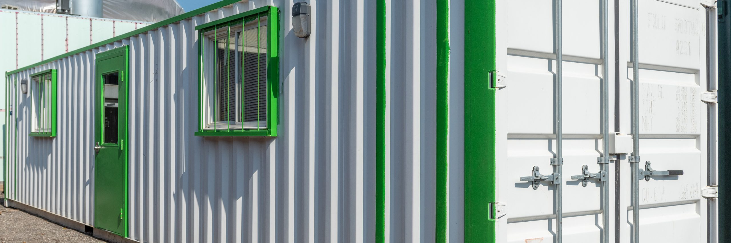 Shipping Container Office - TargetBox