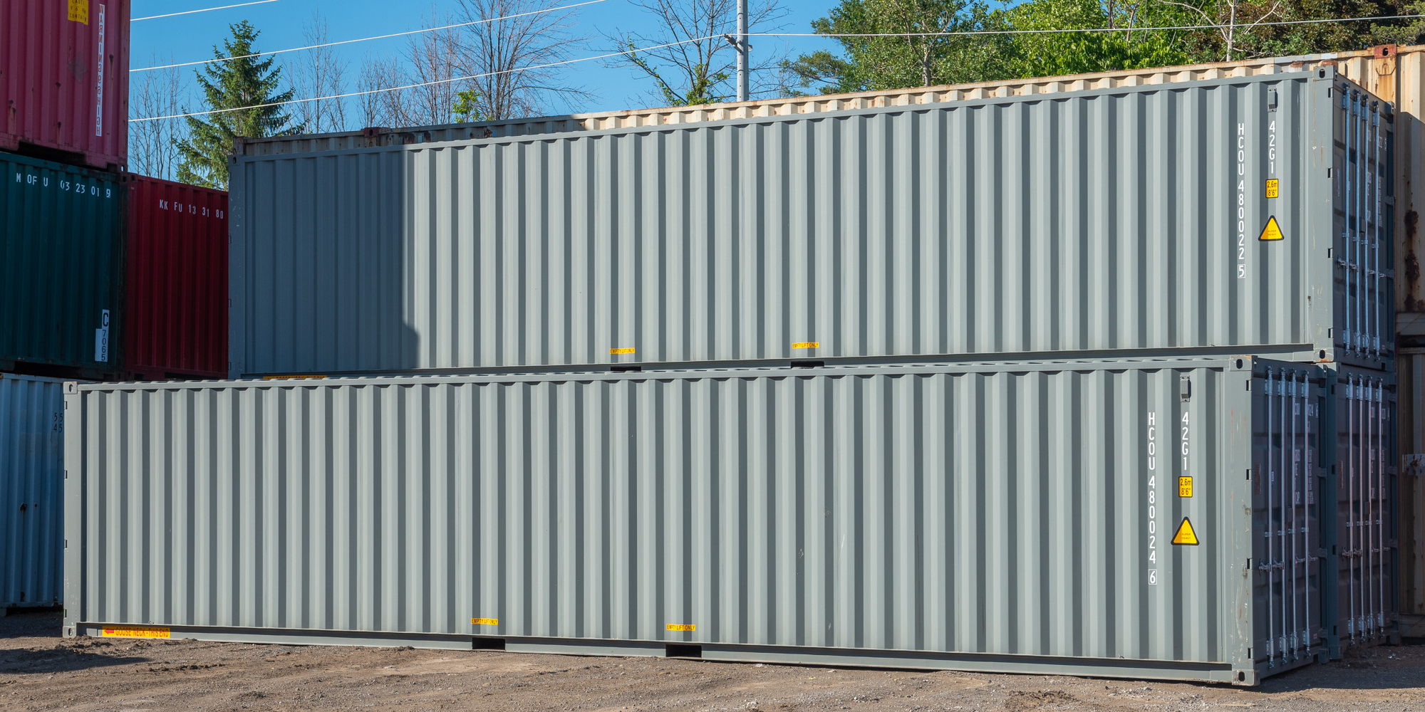40ft Shipping Containers Dimensions and Ideal Use Cases - TargetBox - Article