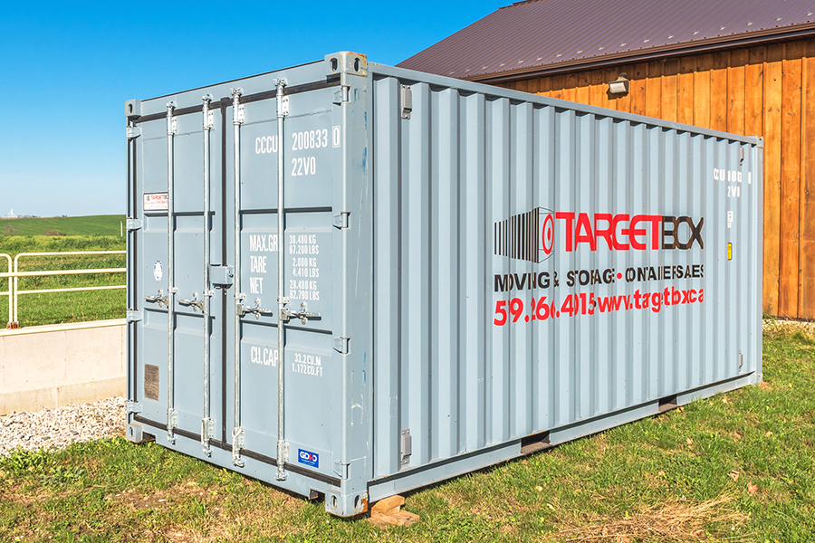 TargetBox - Article - Weatherproof and rodent-free storage with shipping containers - feature