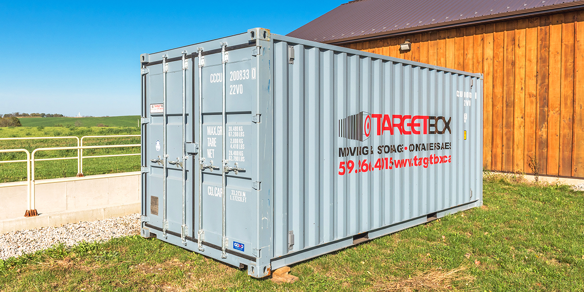 TargetBox - Article - Weatherproof and rodent-free storage with shipping containers