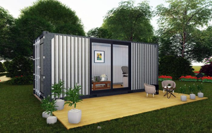 Portable Shipping Container Studio - TargetBox